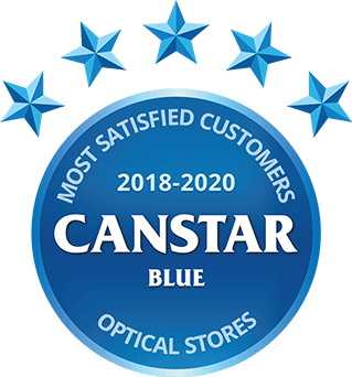 Canstar Blue Optical Stores Winner 2020 logo