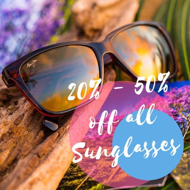 Sunglasses Sale 20%-50% off