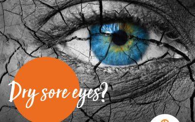 Dry sore eyes?