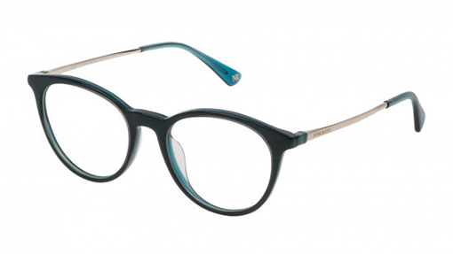 Nina Ricci Teal and Transparent Turquoise - Eyecare Plus Tamworth