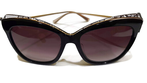 Nina Ricci sunglasses with black lace - Eyecare Plus Tamworth