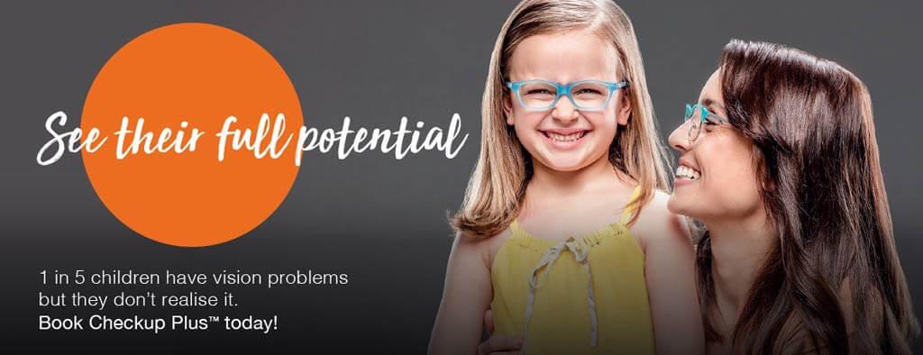 Eye test for kids at Eyecare Plus Tamworth