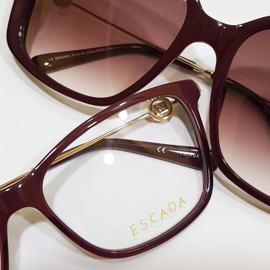 Escada Optical and Sunglasses Collection for Women 2019