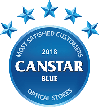 Canstar Blue Most Satisfied Customers Award, Optometrists, 2018