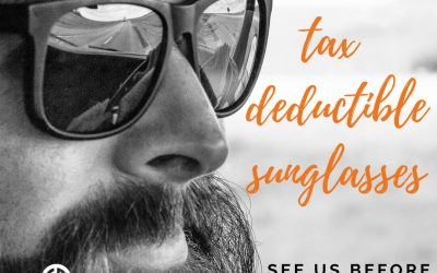 Tax Deductible Sunglasses