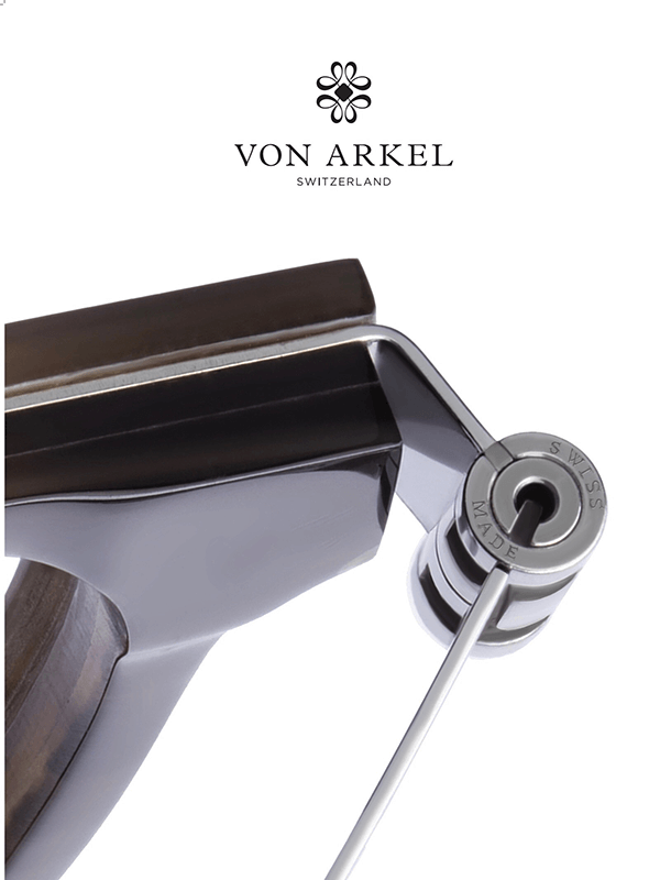 Von Arkel Switzerland Caliber hinge