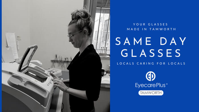 Same day glasses at Eyecare Plus Tamworth