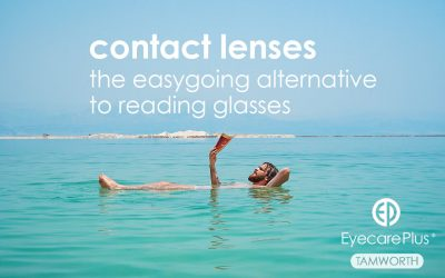 Contact lenses as reading glasses