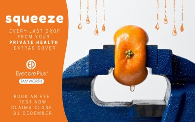 Squeeze every last drop from your Private Health Optical Extras
