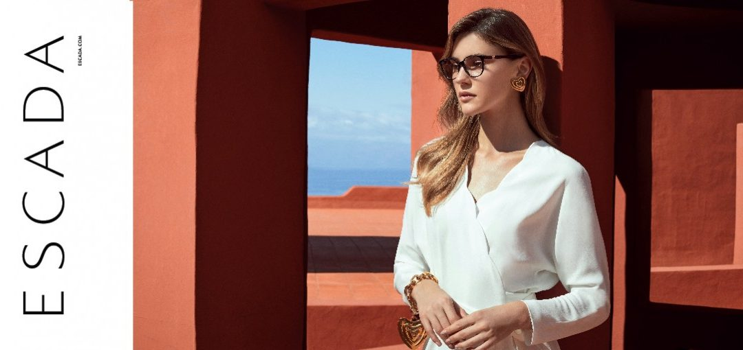 Escada Optical Collection 2019 banner