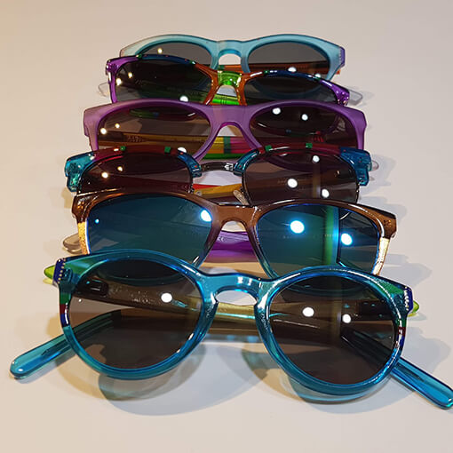 Maui Jim Dragonfly polarised sunglasses Crystal with a hint of pink - Eyecare Plus Tamworth