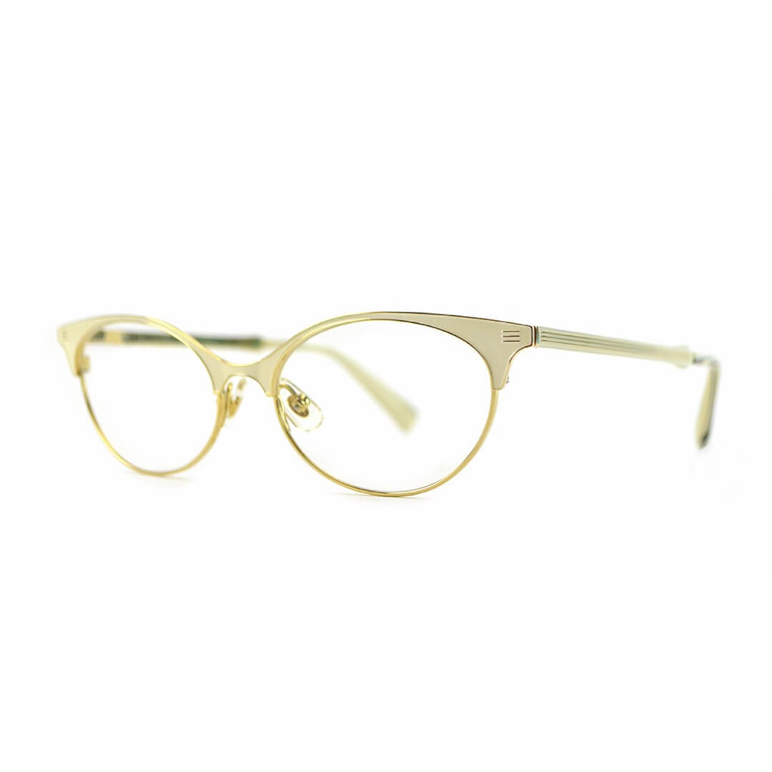 Seraphin Brookview optical frame in White Pearl Gold - Eyecare Plus Tamworth