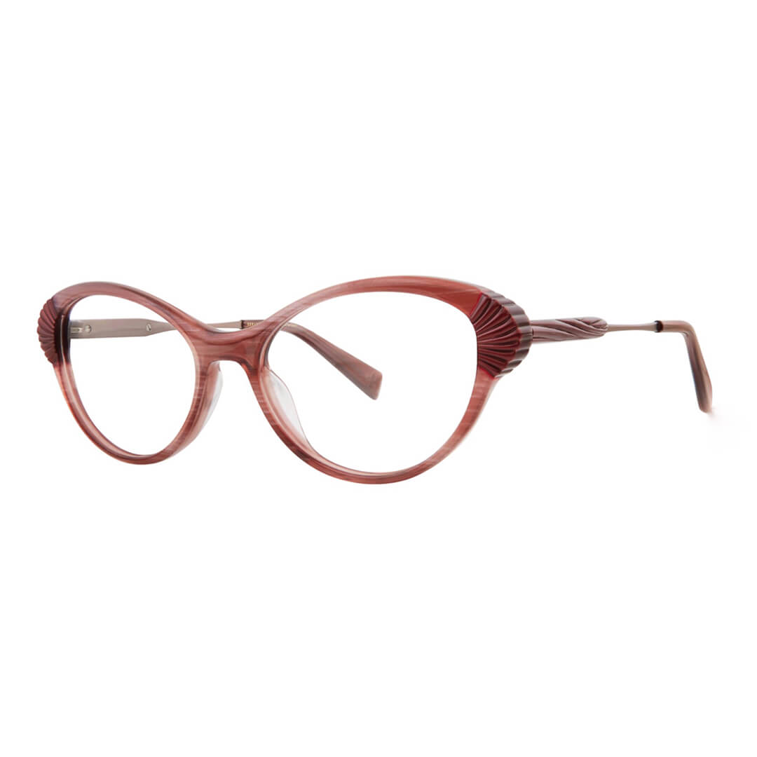 Seraphin Xenwood optical frame in Taupe Rose Pearl Prism - Eyecare Plus Tamworth