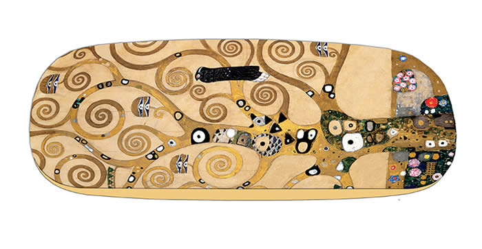 hard case and lens cloth - Klimt - Tree of Life