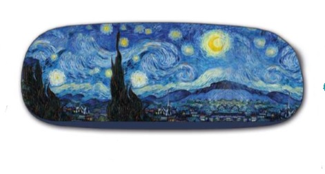 hard case and lens cloth - Van Gogh - Starry Night
