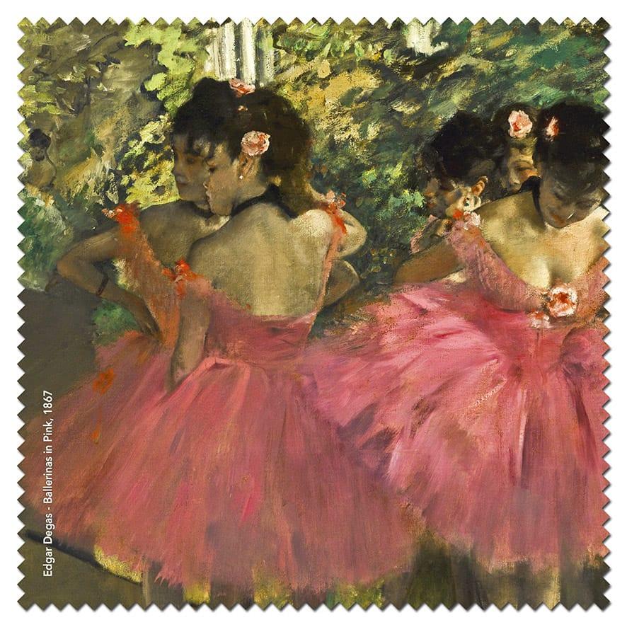 lens cloth Degas – Dancers in Pink