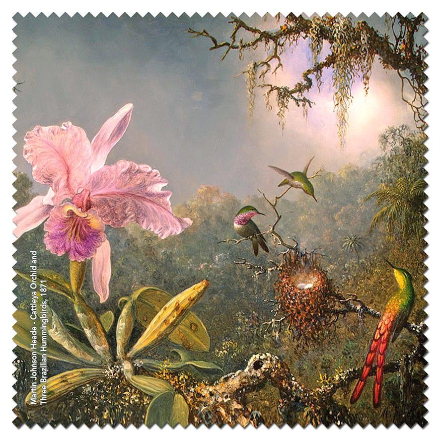 lens cloth Heade – Cattleya Orchid