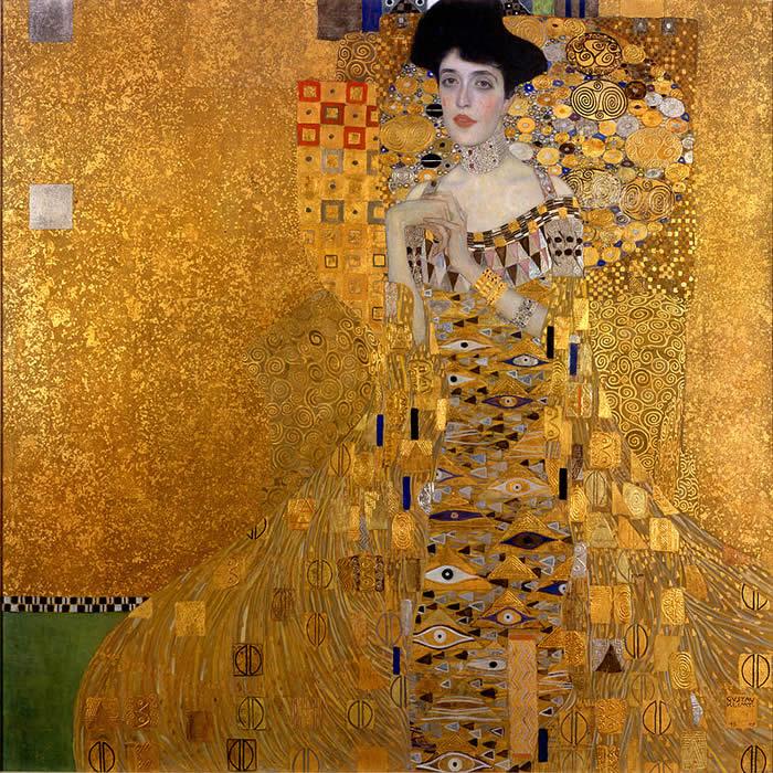 lens cloth - Klimt - Adele Bloch Bauer