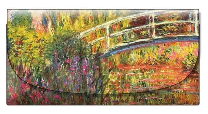velour case - Monet - Le Pont Japonais
