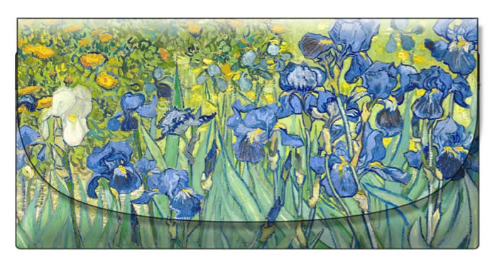 velour case - Van Gogh - Irises