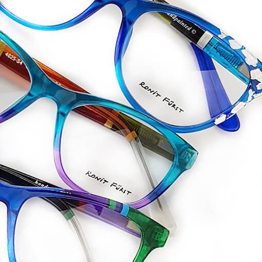 Ronit Furst trio blue glasses