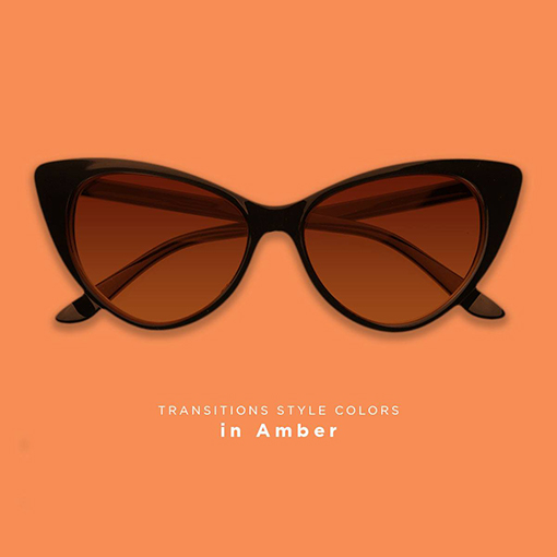 Transitions lenses Amber