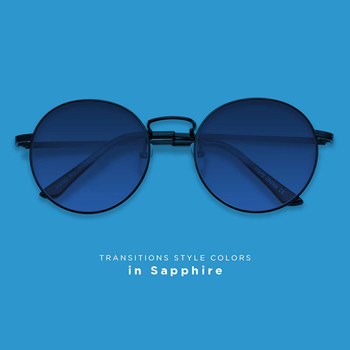 Transitions lenses Sapphire