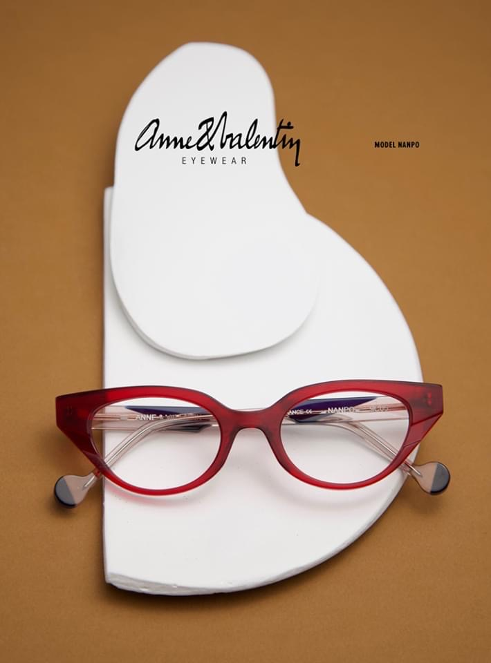 Anne & Valentin glasses red Nanpo