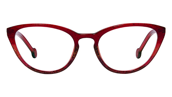 LA Eyeworks Horse Shoe Red