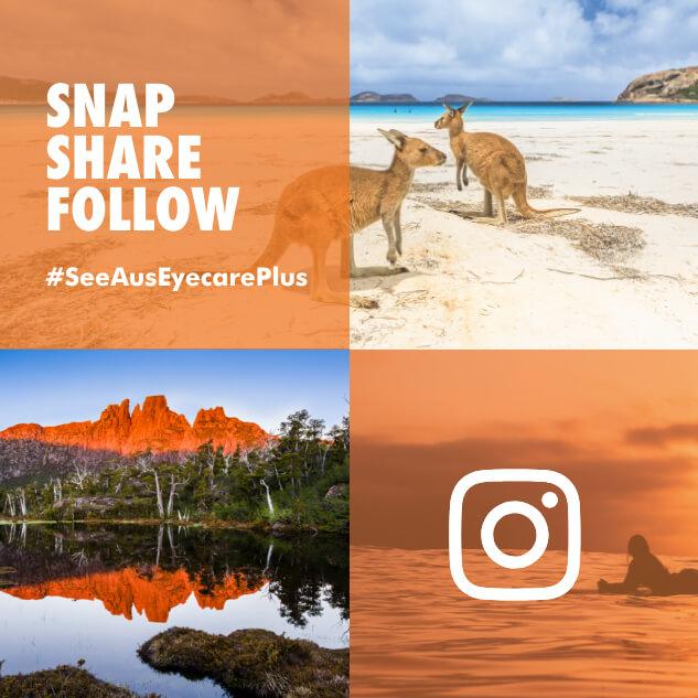 SeeAus snap share follow